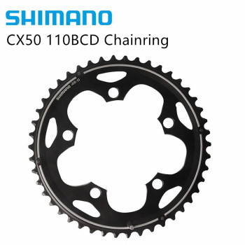 SHIMANO CX50 110BCD Chainring 36T OR 46T 10 speed Bike Bicycle image