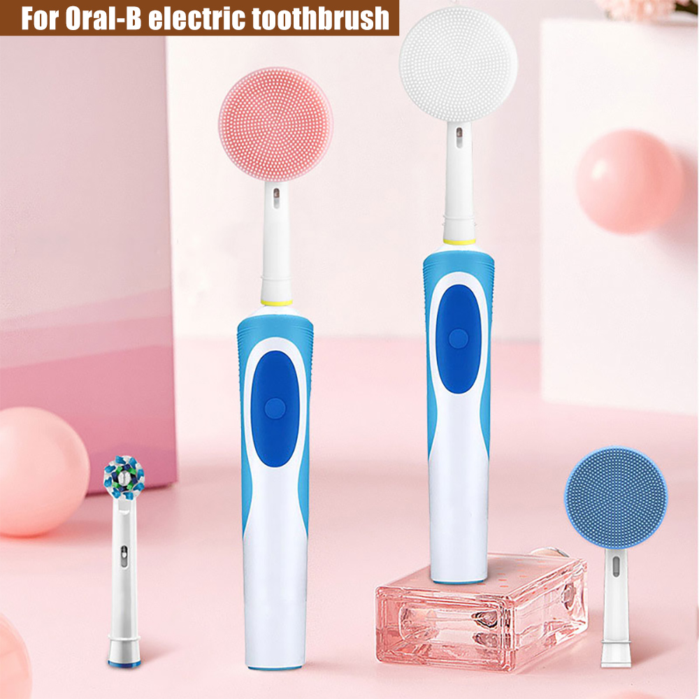 Facial Massager And Cleanser Head Suitable For Oral-B Electric Toothbrush Replacement Facial Cleansing Brush Head Cleansing Head