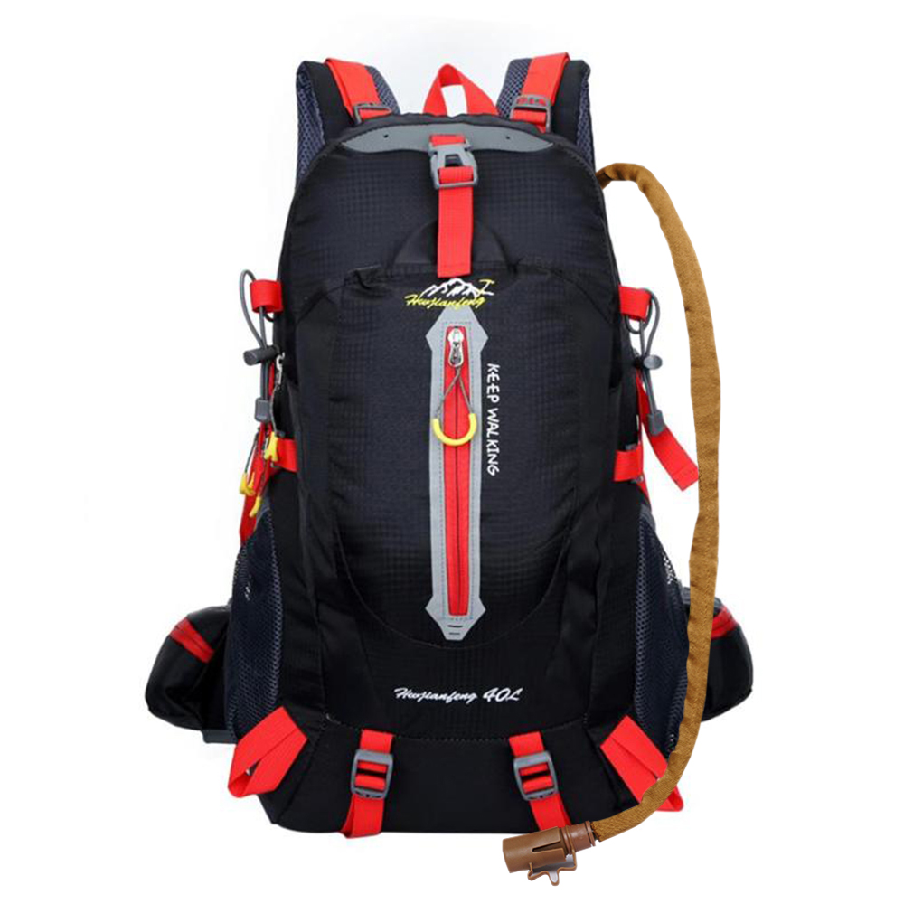 Mochilas de senderismo Outlet 40L bolsas del ejército para hombres mochila de escalada resistente al agua Mochila deportiva bolsa de Camping mochila cubierta de lluvia