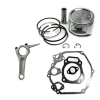 Piston Ring Connecting Rod with Seals Gasket Engine Kit for Honda GX390 13HP