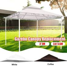 Gazebo Canopy Top-Replacement Madaga-Frame Waterproof Outdoor 2-Tier-Cover Backyard Events