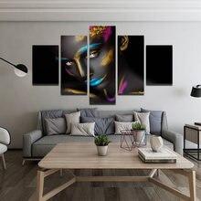 Современный стиль цветное художественное украшение картина персонаж