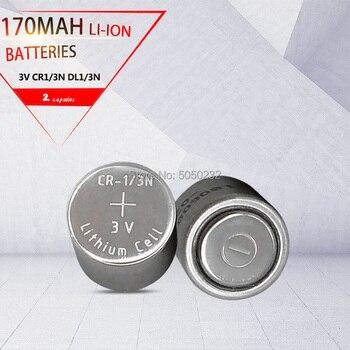 2 шт. оригинальный 170 мА/ч, CR-1/3N CR13N M6 M7 DL-1/3N CR1/3N 3В для Камера локатор главным образом литиевая батарея