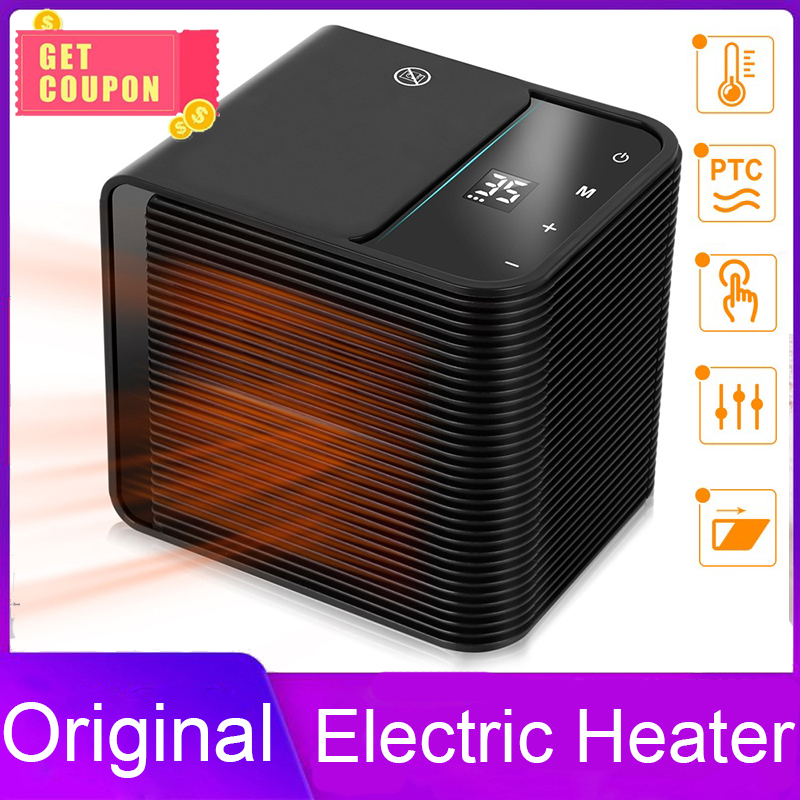 2000W High-power Home Heater With Touch Control Portable Fast Heating Electric Warm Air Fan Office Room Health Heaters 1