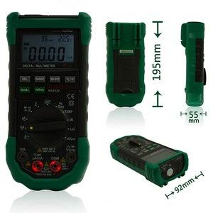 Image 5 - Mastech multímetro Digital multifunción 5 en 1, multímetro Digital de rango automático, nivel de sonido Lux, medidor de temperatura y humedad