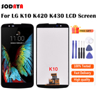 For LG K10 LCD With ...