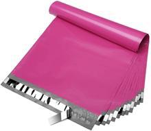 100 unidades/lotes sacos de correio rosa frete grátis sacos de correio auto selo envolve plástico saco de embalagem sacos de plástico para embalagem