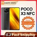 Для смартфонов Xiaomi POCO X3 NFC глобальная версия 6 Гб 64 Гб/128 ГБ Snapdragon 732G 64-мегапиксельная четырехъядерная камера 6,67
