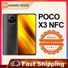 Smartphone Xiaomi POCO X3 NFC versión Global 6GB 64GB/128GB Snapdragon 732G 64MP Quad Cámara 6,67