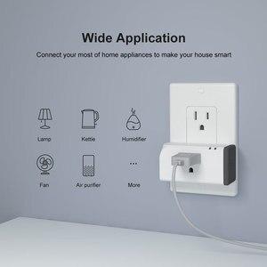 Image 2 - 2 قطعة Itead SONOFF S31 لايت الولايات المتحدة الذكية زيجبي المقبس التوصيل صوت التحكم عن بعد مفتاح المنزل الذكي يعمل مع اليكسا smartarts Hub
