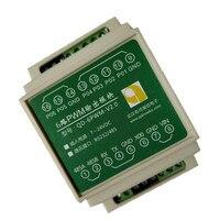 Porta serial rs485 rs232 controle de comunicação 6-way pwm módulo de saída movimentação do motor dc 12v2v