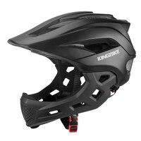 Kingbike capacete de bicicleta para crianças  capacete completo para ciclismo de montanha e estrada  mtb  capacete para crianças