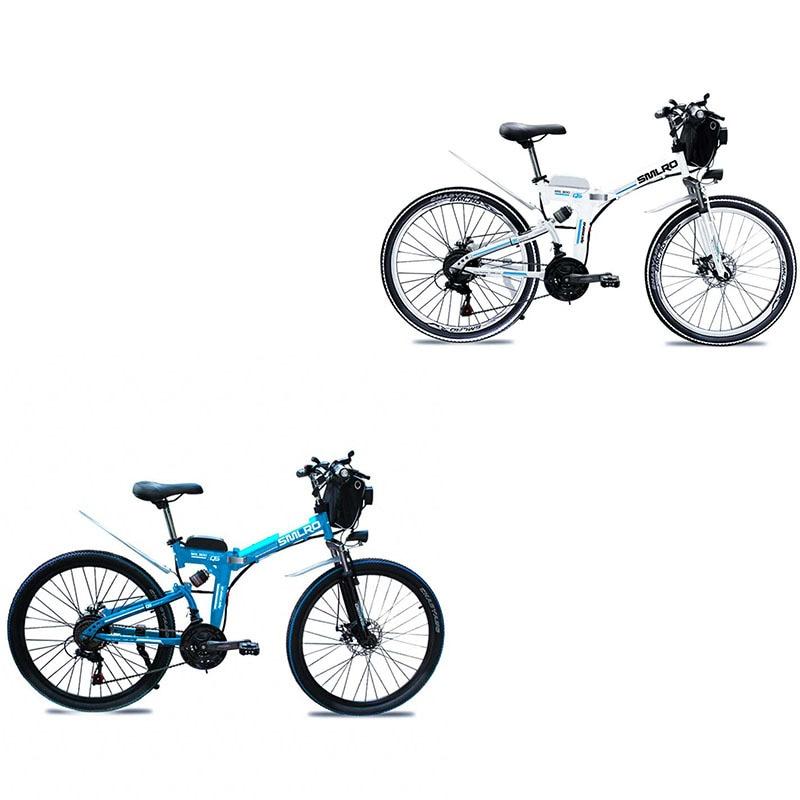 Canvas Battery Bag e bike 26 inch 350W Lithium Battery   Folding  Electric Bicycle E Bike 3