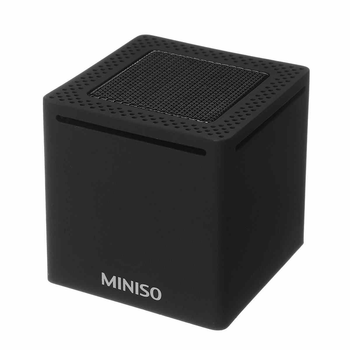 Globle Versi Miniso Bluetooth Speaker Mini Portable Nirkabel Pengeras Suara Speaker untuk Ponsel Komputer Stereo Musik Outdoor