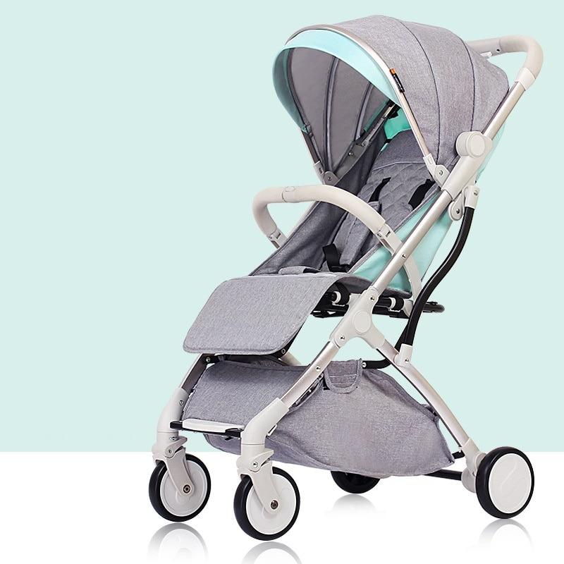 7 кг Роскошная легкая детская коляска yoya Plus 3, переносная коляска для мамы, розовая коляска для путешествий, коляска на самолете, 5 бесплатных подарков - 4