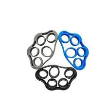 3 pçs dedo maca aperto de mão strengener flexível silicone extensor exercitador trainer melhor para escalada aperto
