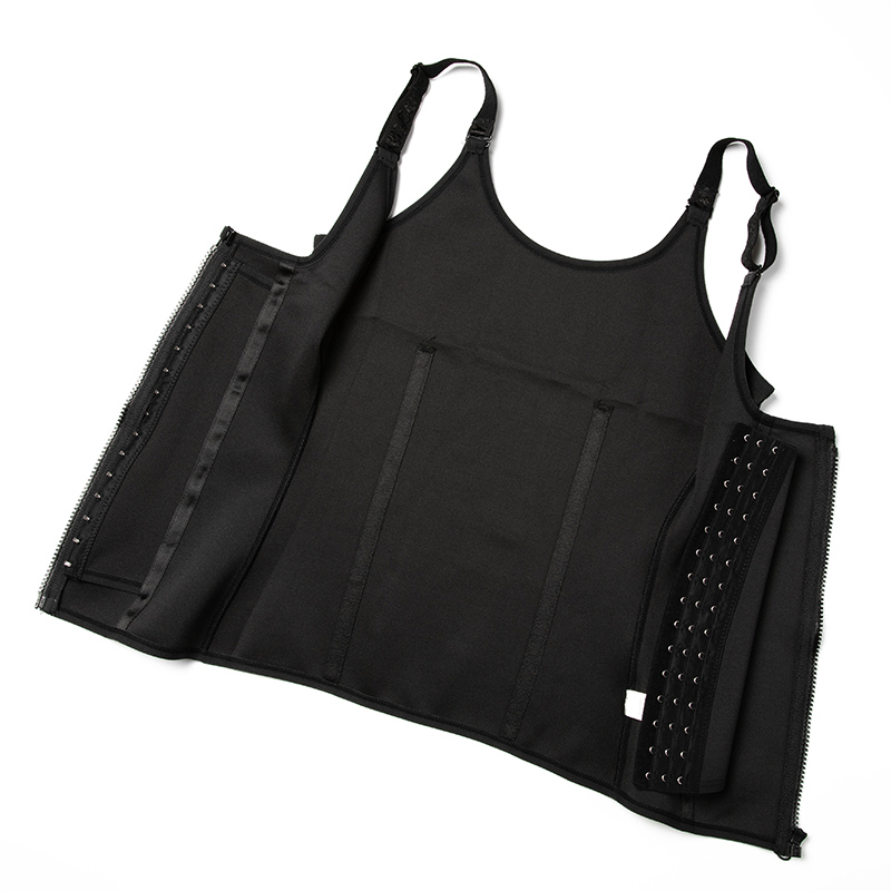 Tummy Control Waist Trainer With Zip And Hook