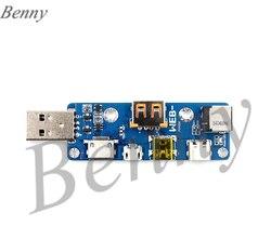 Ponad WEB POW002 wielofunkcyjna płyta adaptera USB MicroUSB TYPE C DC PD w Nawijarki kabli od Elektronika użytkowa na