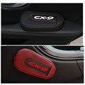 Высококачественная Кожаная подушка для ног  наколенник для двери автомобиля  накладка на руку  внутренние автомобильные аксессуары для Mazda ...