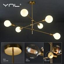 Modern Lighting Nordic Pendant Lights Hanglamp Living Room Hanging Lamp Indoor Gold Pedant Lamp Ceiling Long Pole Art Decoration