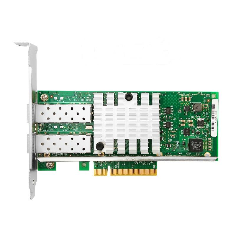 X520-DA2 10G SFP+ Dualport PCIe 2.0 X8 Intel 82599ES Chip  Ethernet Network Adapter
