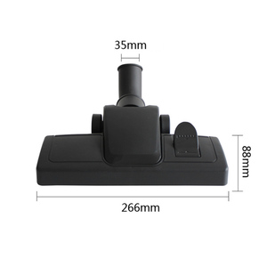 Image 3 - Universal 35mm Innen Durchmesser Staubsauger Pinsel Zubehör Langlebig Pinsel Kopf Werkzeug Ersatz Für Boden Teppich
