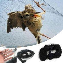 9 tamanhos anti pássaro apanhador rede lagoa rede de pesca net armadilhas culturas frutas árvore legumes flor jardim malha proteger controle pragas
