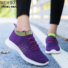 2020 New Mesh Women Flat Shoes Lightweight Women Sneakers Breathable Ladies Casual Shoes Chaussure Femme Calzado Mujer Plus Size