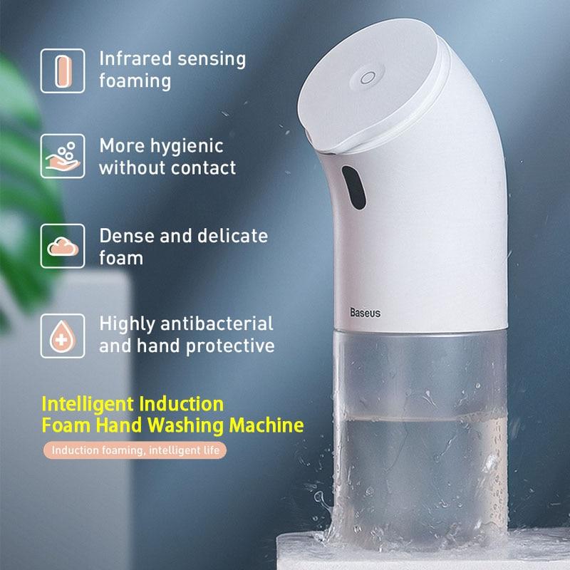 Dispenser Liquid-Soap Bathroom Baseus Induction for Kitchen Without-Liquid Without-Liquid