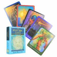 Juego de mesa cartas de Tarot Tarjeta de adivinación para adultos y niños