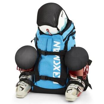 Рюкзак XCMAN для лыжных ботинок, легкий и прочный рюкзак для катания на лыжах-магазины снаряжения, включая шлем, сноуборд, ботинки, очки, перчатки и аксессуары, сайт алиэкспресс на русском