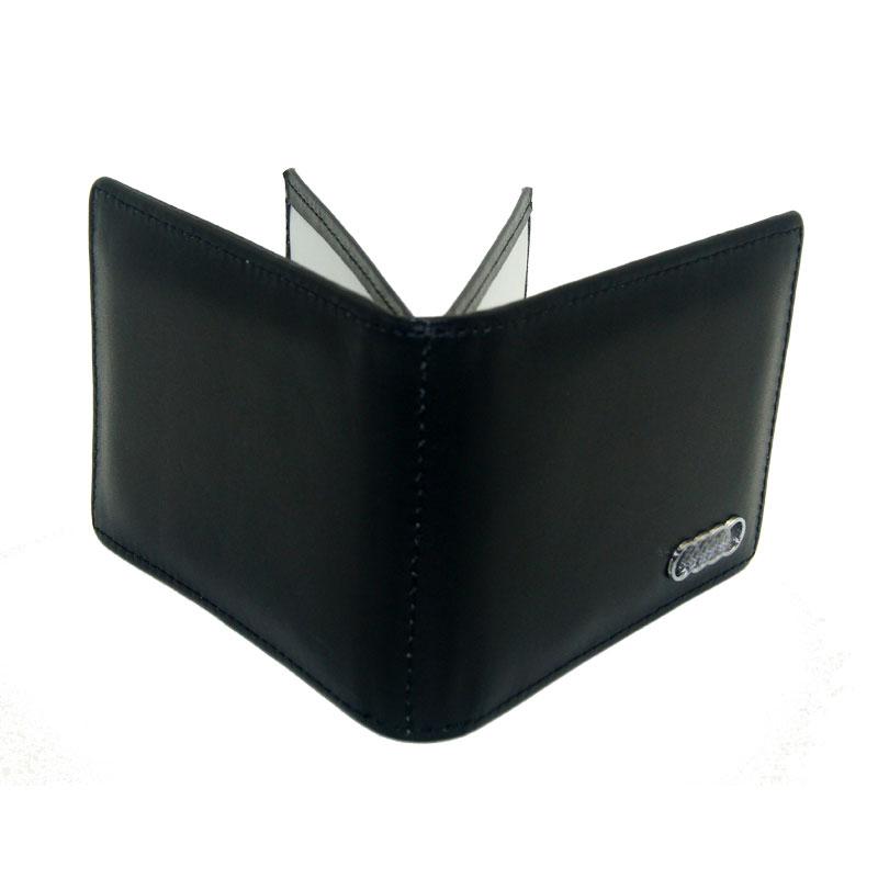 KAHANE Men s Leather Car Driver License Bag Credit Card holder For Audi A3 A4 B4 A5 A6 A7 A8 B6 B8 R8 Q3 Q5 Q7 with Audi logo