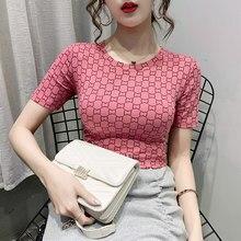 Summer new top cotton short sleeve T-shirt women's wear