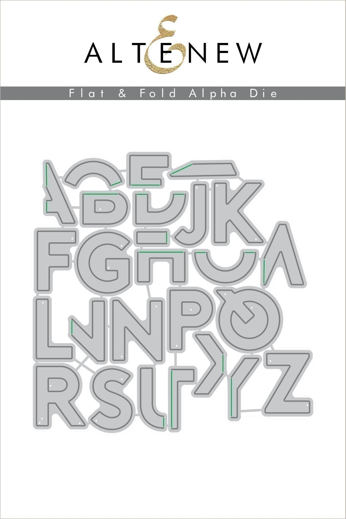 2020 Metal Cutting Dies Folded Letters Die Cut Scrapbooking Paper Craft Handmade Card Punch Art Cutter Decorative Stencil