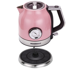 1.8L 304 Stainless Steel Electric Kettle With Water Temperature Meter 1500W Household 220V Quick Heating Electric Boili Eu Plu
