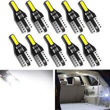 Bombilla LED de lectura para coche Ford Focus 2 3, Fiesta, Fusion Ranger, Kuga S, Max, Mondeo, MK4, Mustang, Escape, MK2, W5W, 10x