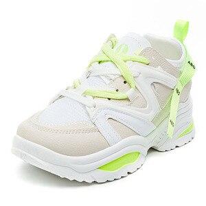 Image 2 - Chun Bụng Sneakers Nữ Vulcanize Giày Đế Phẳng Giày Thể Thao Với Các Nền Tảng Giày Nữ Giày Nữ Giày Thể Thao Tenis Feminino