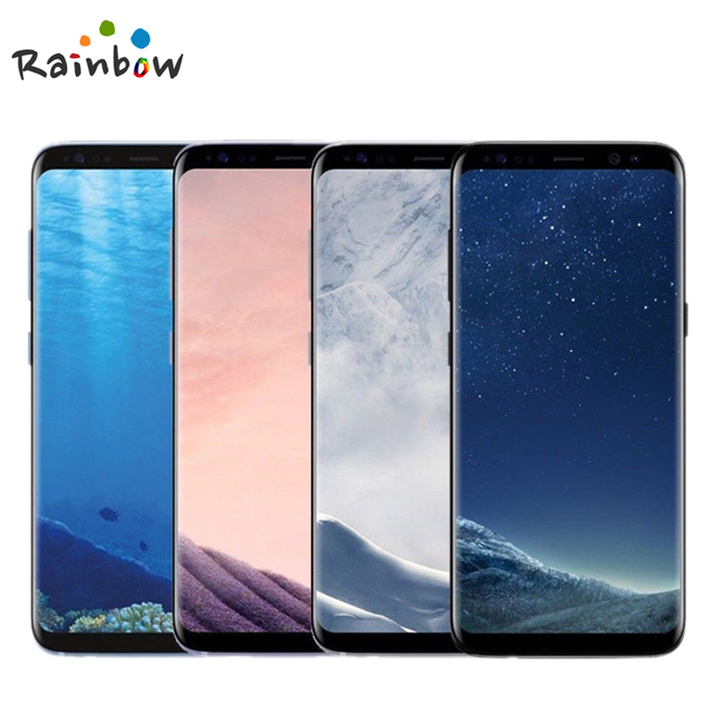 "Samsung Galaxy S8 + S8 Plus G955 Original Entsperrt LTE Android Handy Octa Core 6.2 ""12MP RAM 4G ROM 64G Snapdragon 835 NFC"