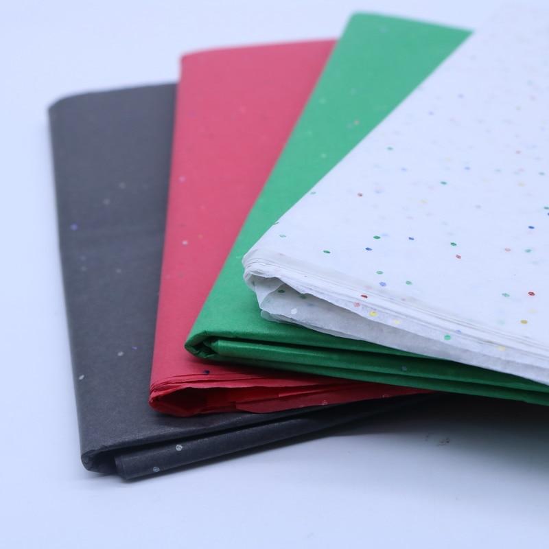 10Pcs/bag 28 Styles Sequin Tissue <font><b>Paper</b></font>