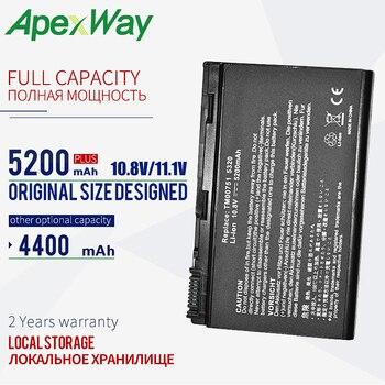 Batería para portátil de 10,8 V, para Acer Extensa 5220 5620G 5620Z...