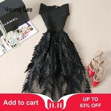 Bandage Lace Dresses Floral