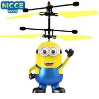 Nicce Mini drone RC drone elicottero induzione infrarossa Flying Quadcopter Dolls magica principessa bambola carina giocattolo volante