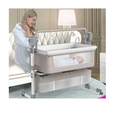 Baby Multi-Function Electric Cradle Shaker Rocking Chair Newborn Intelligent Coax Baby Bedside Bed Sleeping Basket Baby Bed