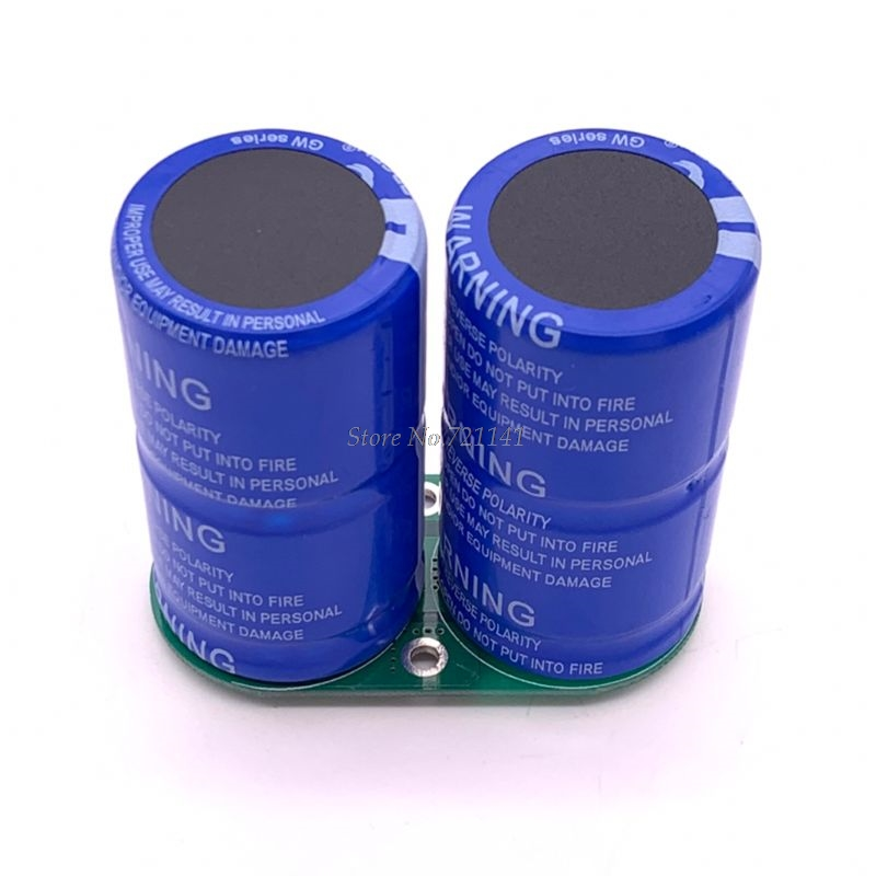 2.7V 500F Super Farad Capacitor 60x35 Vehicle Rectifier Low ESR Ultracapacitor N