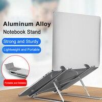 Foldable Laptop Stand Adjustable Aluminum Laptop Tablet Stand Portable Desktop Holder for 11-17inch Notebook
