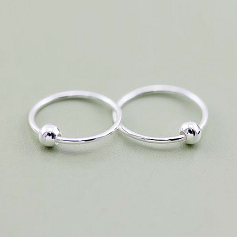 925 silver nose ring navel ring eyebrow ring body piercing jewelry for women 8mm 10mmanti- allergy-5