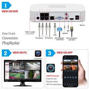 Image 4 - Dahua 4MP 4 + 2/4 Sicherheit CCTV Kamera Kit Original NVR NVR4104 P 4KS2 16POE & 2/4 stücke OEM IP Kamera Zoom IPC HFW4431R Z 4X ZOOM
