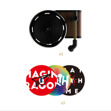 Car Aromatherapy Turntable Air Freshener Record Player Outlet Aroma Perfume Diffuser