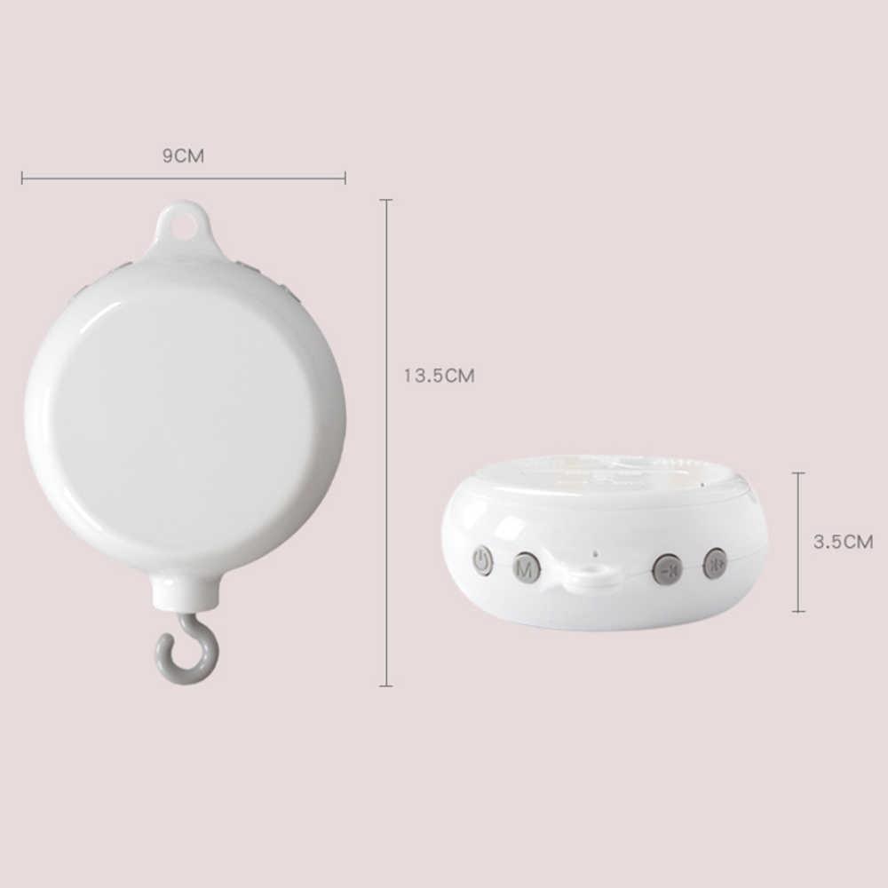 Детская музыкальная шкатулка вращающаяся Мобильная кроватка кровать движение по часовой стрелке мобильные, музыкальные колокольчики для новорожденных Колыбель ветрозащитная погремушка игрушки