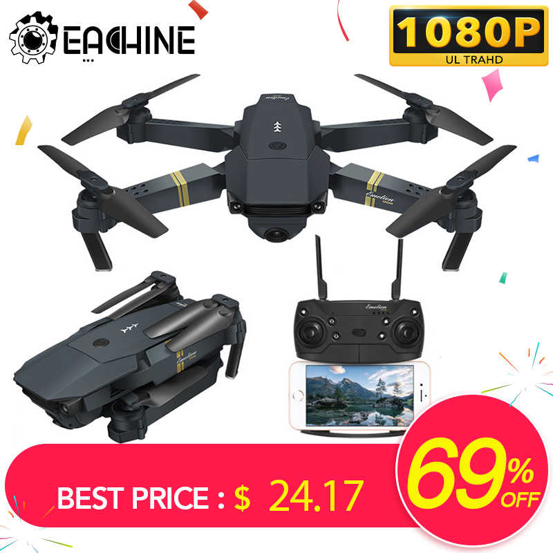 Eachine E58 WIFI FPV With Wide Angle HD Camera High Hold Mode Foldable Arm RC Quadcopter Drone RTF VS VISUO XS809HW H37